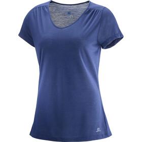 Salomon Ellipse - T-shirt manches courtes Femme - bleu